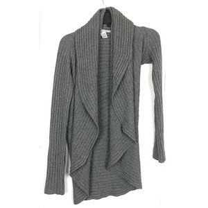 AUTUMN CASHMERE GREY CARDIGAN SIZE SMALL